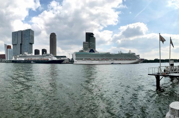 Cruise seizoen Rotterdam